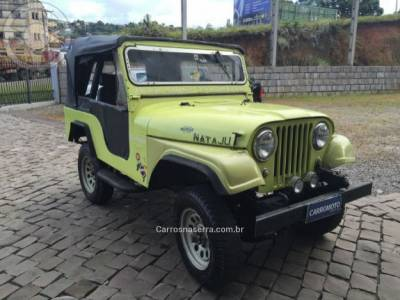 WILLYS - JEEP - 1959/1959 - Amarelo - R$ 18.000,00
